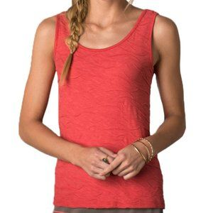 Toad&Co Samba Wave Tank Top Coral Orange Sz S